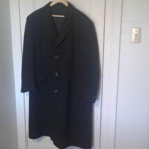 John Christian coat mens wool grey 46R
